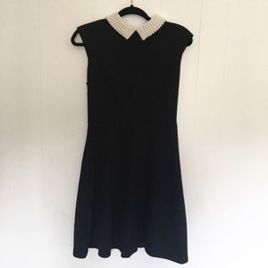 Betsey Johnson Pearl Collar Dress Size 6